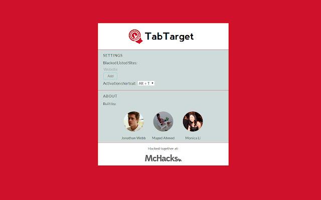 Tab Target