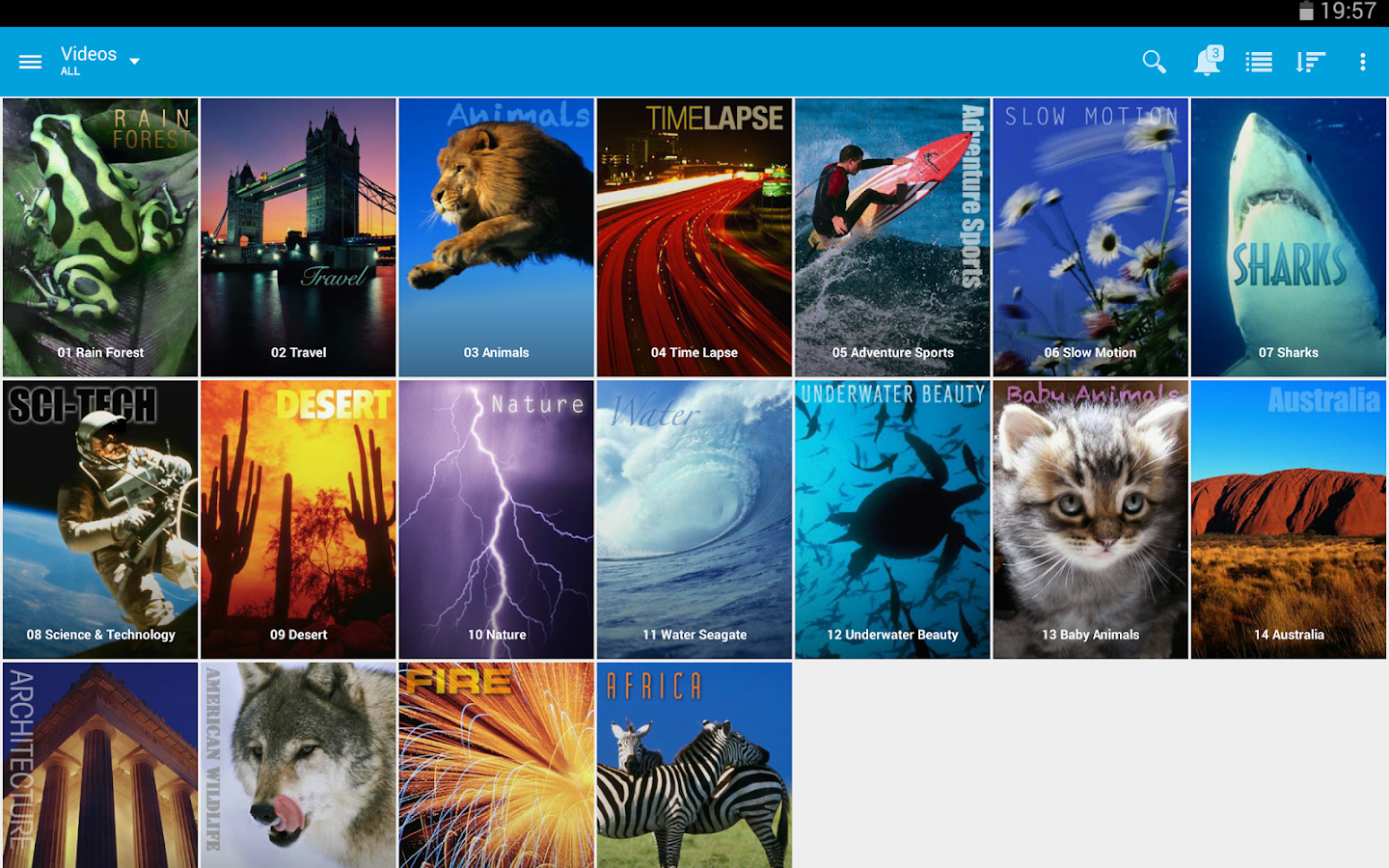 Seagate Media™ app- screenshot