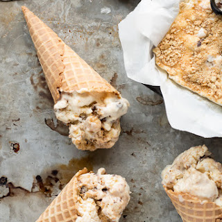 No Churn S'mores Ice Cream
