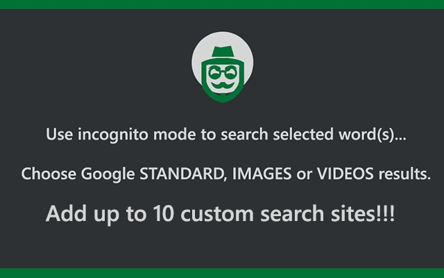 Incognito Plus! Search images, videos &&....