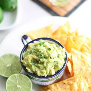 Easy Guacamole for One - Vegan, Gluten Free, Paleo