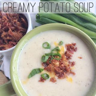 Slow Cooker Creamy Potato Soup.