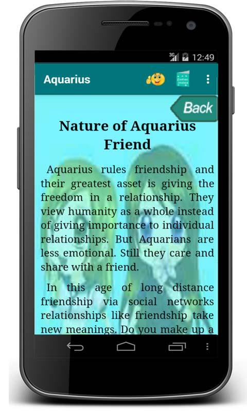 Aquarius- screenshot