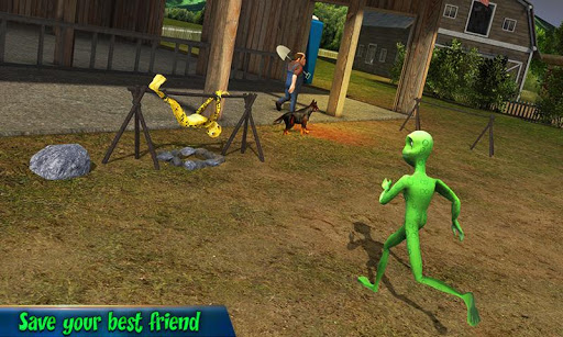 Scary Green Grandpa Alien 1.1 screenshots 4