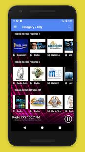 Radios El Salvador - El Salvador Radio FM Online - náhled
