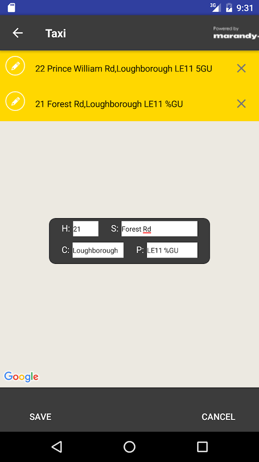 Yellow Cars Booking App- screenshot