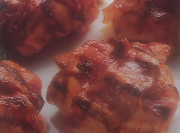 Barbecued Chicken Bundles Recipe
