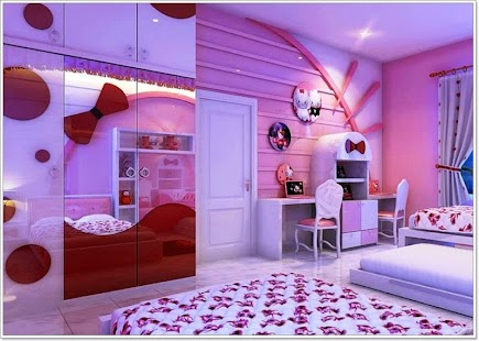 Interior Girl Bedrooms Designs simple girl bedroom design android apps on google play screenshot thumbnail