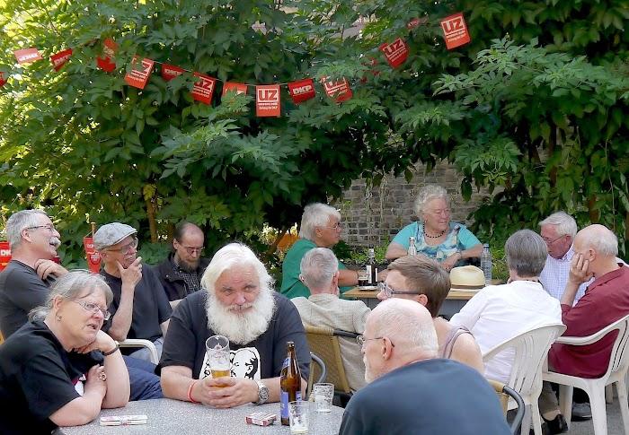 Faksimile: Ausschnitt aus Flugblatt: «Rotes Sommerfest».