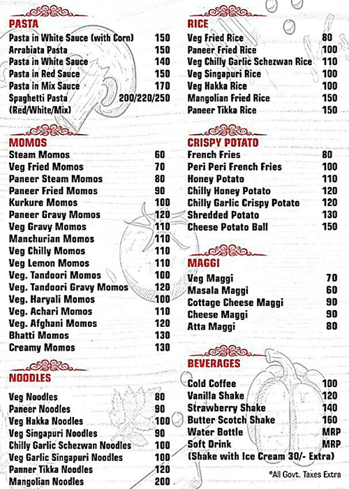 Deli Katz's Family Cafe menu 1