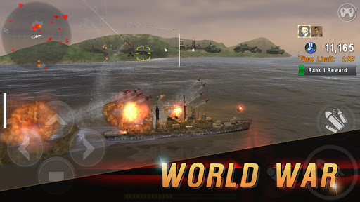 WARSHIP BATTLE:3D World War II apkdebit screenshots 5