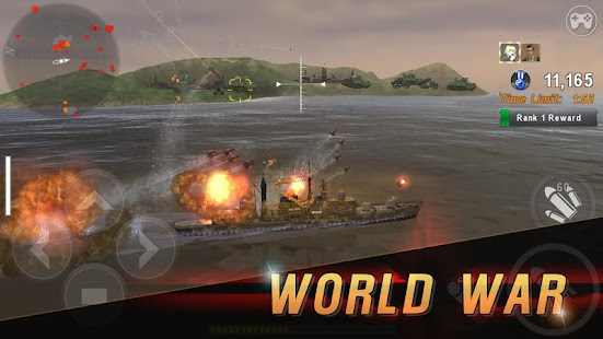 WARSHIP BATTLE:3D World War II Screenshot
