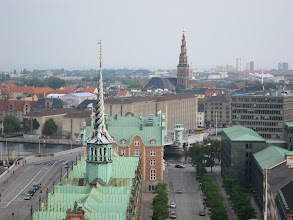 Photo: Old Stock Exchange and church of Our Savior
