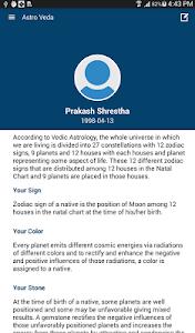 Astro Veda - Vedic Astrology screenshot 8