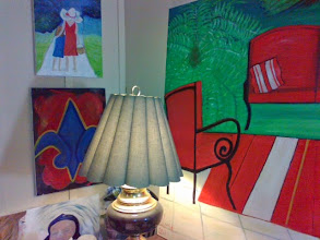 Photo: corner of my front room, yr 2013 {Gloria Poole]