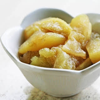Mom's Baked Apple Slices.
