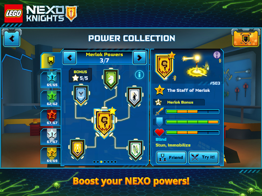 LEGO® NEXO KNIGHTS™: MERLOK 2.0 screenshot 9