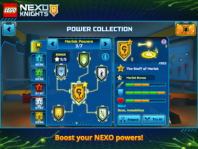 LEGO® NEXO KNIGHTS™: MERLOK 2.0 App Download For Android and iPhone 9