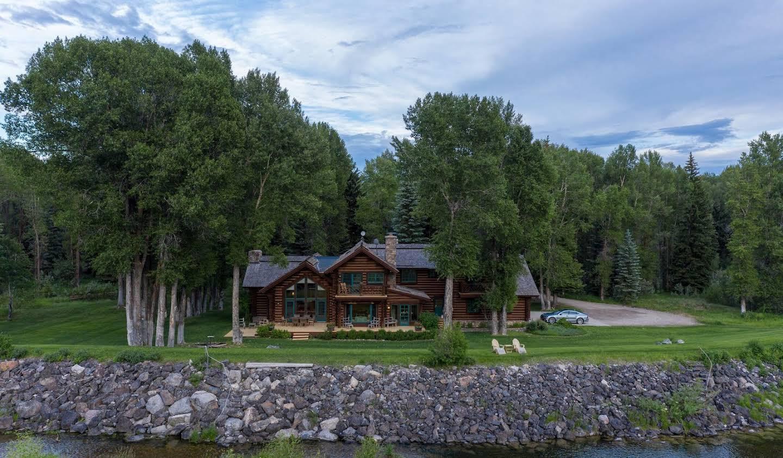 Maison Hoback, Wyoming