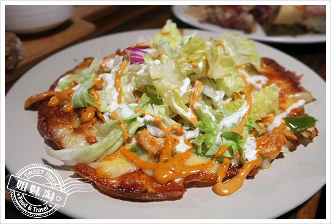 舒曼六號餐館 Schumanns's Bistro No. 6-香炒雞肉煎餅