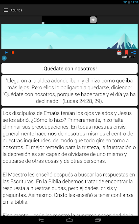 Devoción Matutina Adventista- screenshot