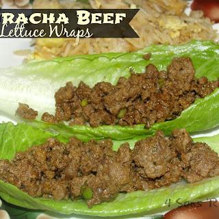 Sriracha Beef Lettuce Wraps Recipe