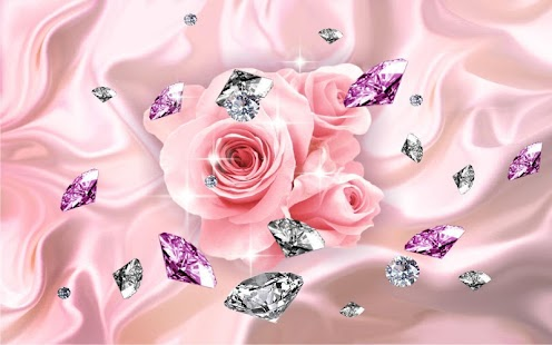 Diamonds and Roses Live Wallpaper - Android Apps on Google Play