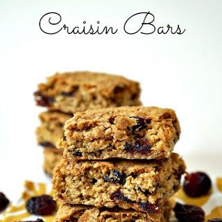 Oatmeal Craisin Snack Bars