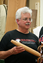 Photo: Jeff also made a French-style rolling pin for his daughter.