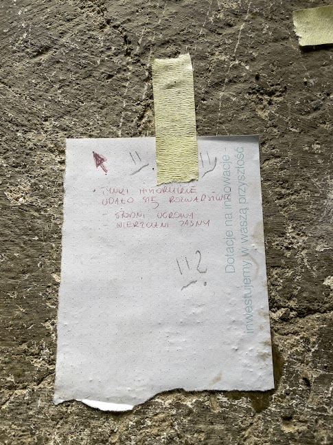 notatki konserwatora zabytków