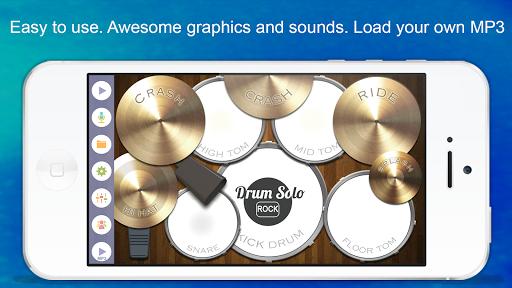 Drum Solo: Rock! ( Batterie ) fond d'écran 1