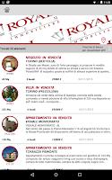 Screenshot of Royal Team Immobiliare
