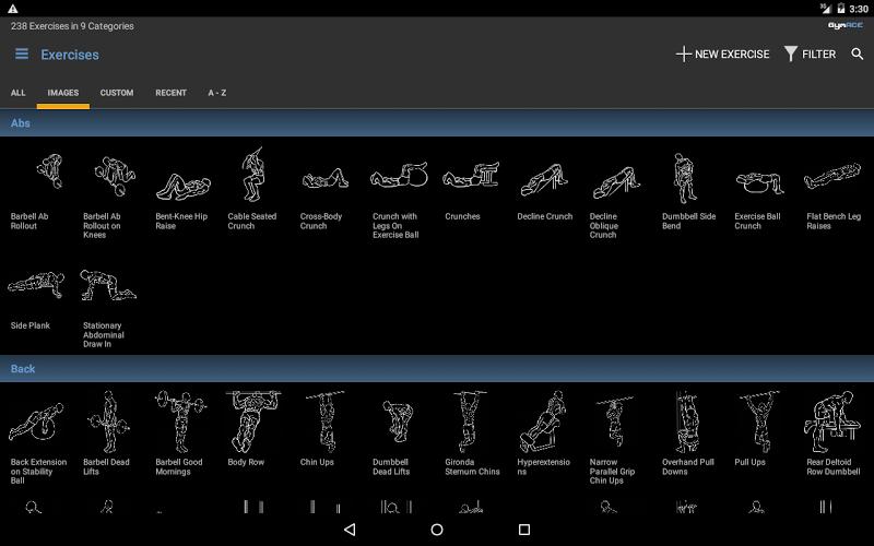 GymACE Pro: Workout Tracker & Body Log Screenshot 8