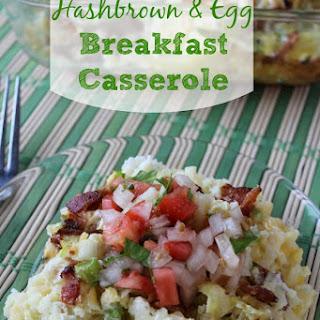 Hashbrown & Egg Breakfast Casserole.