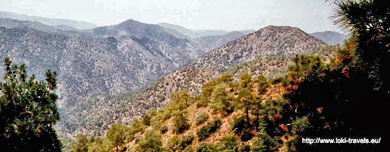 Photo: Troodos gebergte | Troodos mountains.