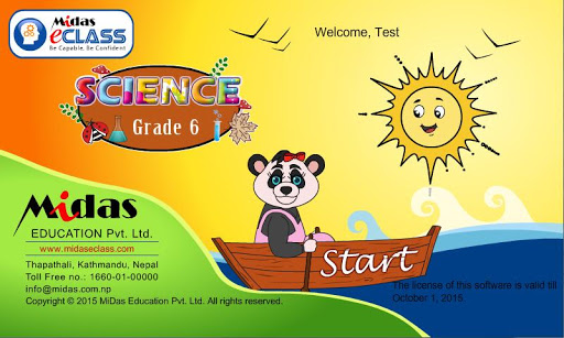 MiDas eCLASS Science 6 Demo