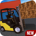 Industrial Forklift Simulator icon