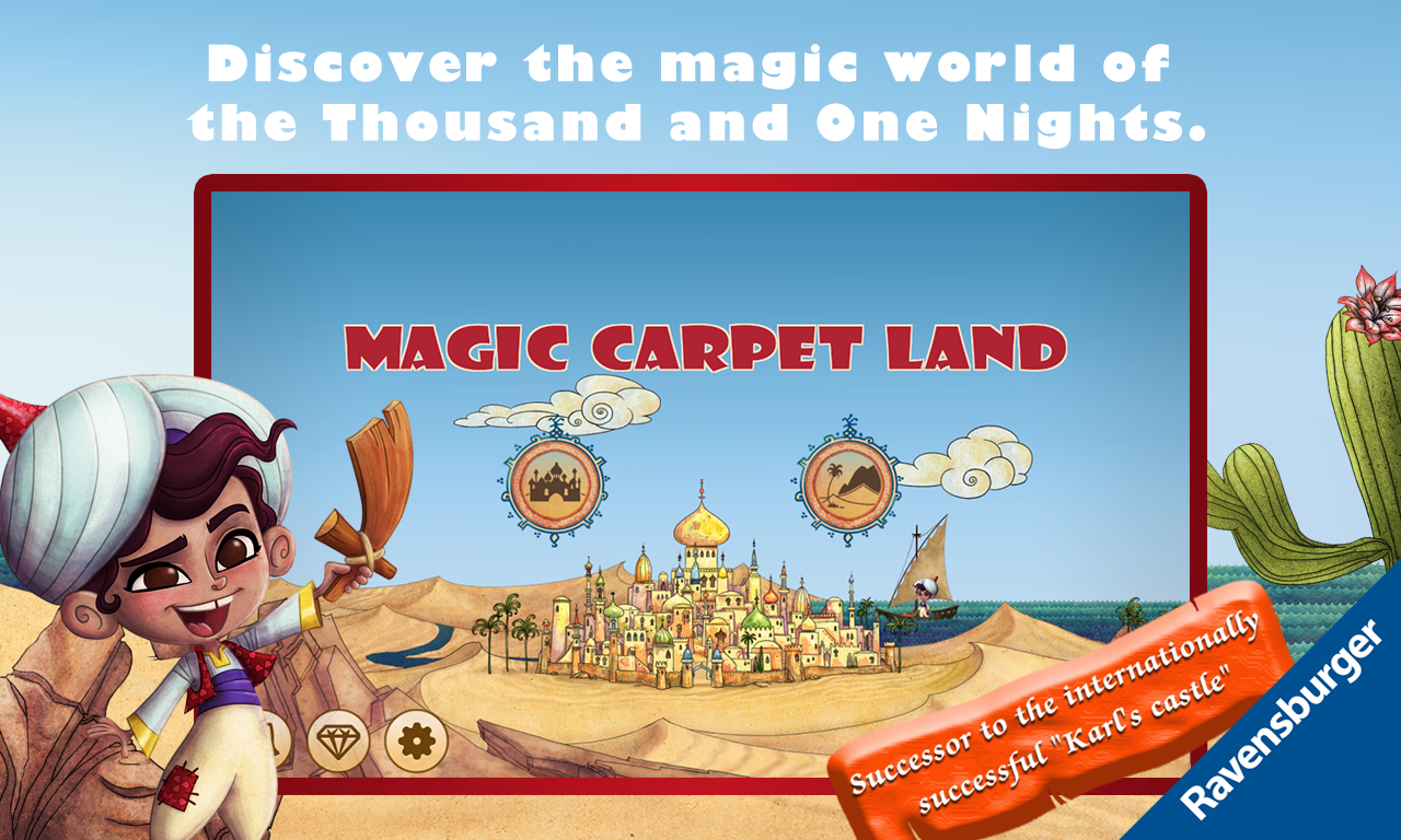 Magic Carpet Land- screenshot