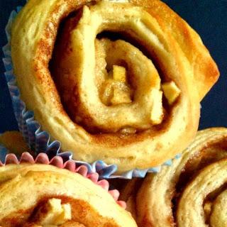 Apple and Cinnamon Brioche Swirls