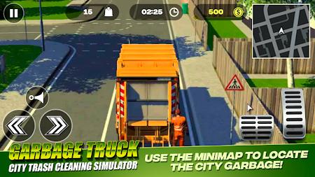 Garbage Truck - City Trash Cleaning Simulator 3.0 screenshot 2093515