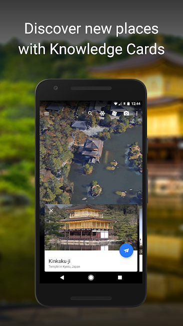 #4. Google Earth (Android)