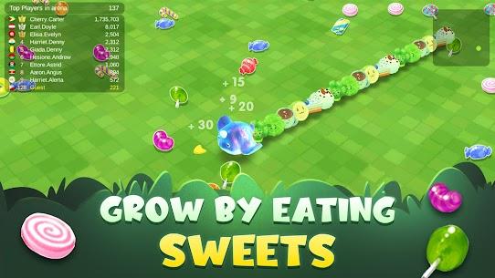 Sweet Crossing: Snake.io 2