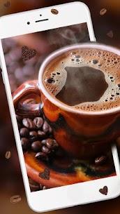 Hot cozy coffee Live wallpaper 2