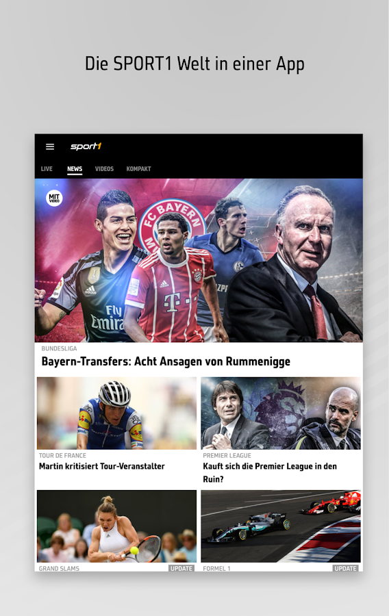 sport1 sport news live android apps auf google play. Black Bedroom Furniture Sets. Home Design Ideas