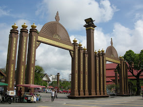 Photo: Sultan Ismail Petra Arch, nearby all the heritage buildings in Kota Bharu