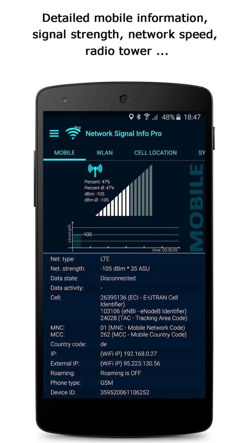 Network Signal Info Pro Screenshot 2