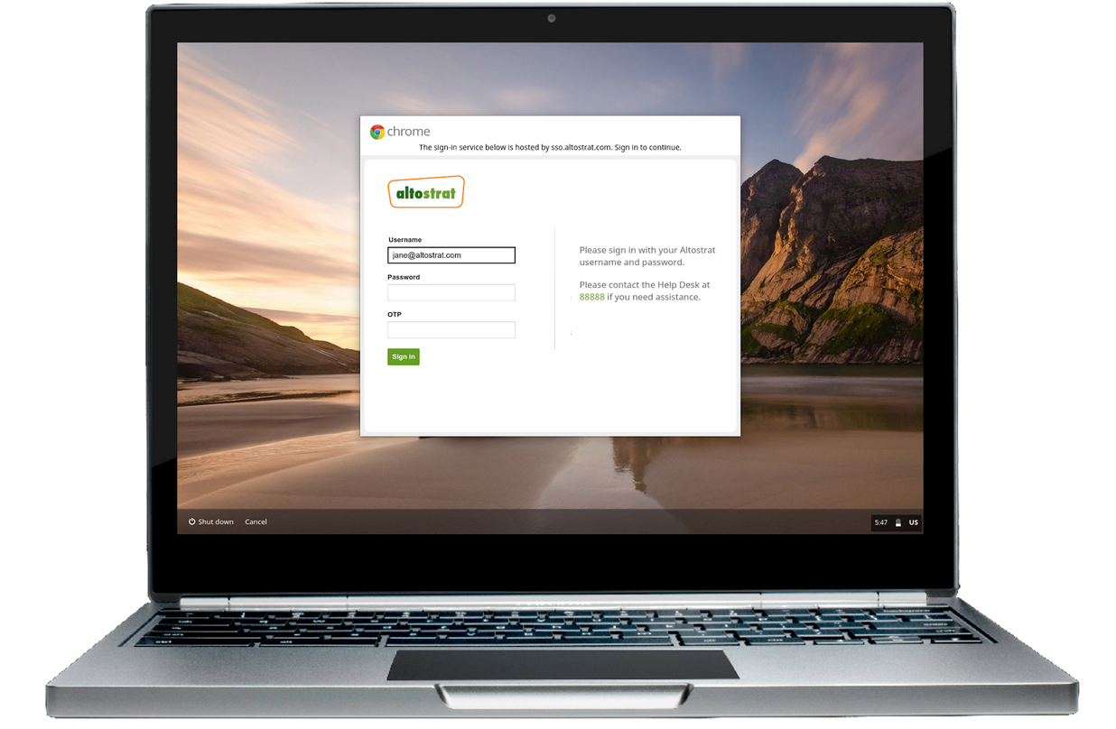 Login For Chromebooks