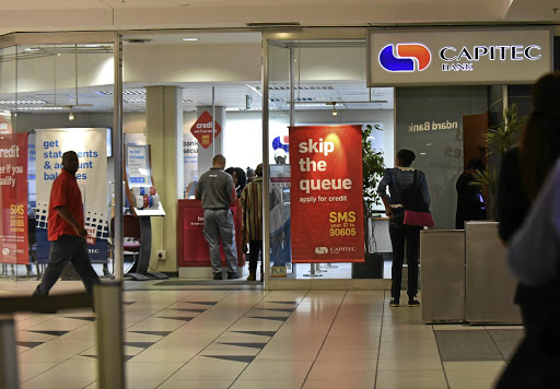 Competitive: Capitec competes on pricing in the banking sector, which critics say is concentrated in the hands of four large banks. Capitec CEO Gerrie Fourie says that while there are opportunities for smaller banks, the regulatory environment makes entry into the market quite tough. Picture: FREDDY MAVUNDA