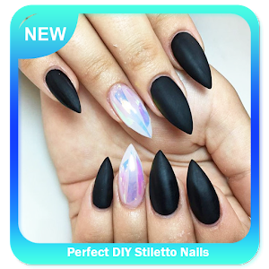 Perfect DIY Stiletto Nails