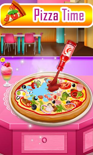 Code Triche Pizza maker chef-Good pizza Baking Cooking Game APK Mod screenshots 1